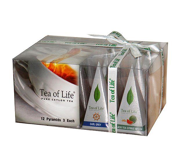 12ct PYRAMID TEA BAGS